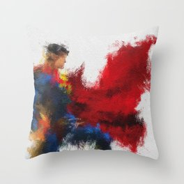 The Last Son of Krypton Throw Pillow