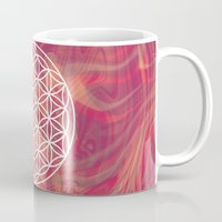 flower of life Mugs featuring Life Flower by shutupbek