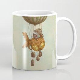 Around the World in the Goldfish Flyer Coffee Mug