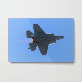 Lockheed Martin F-35 Lightning II Fly-By 2 Metal Print