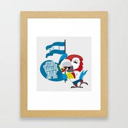 Viva Mi H Framed Art Print