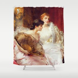 After the Ball Shower Curtain