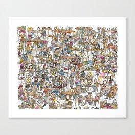 Lunchladies Canvas Print