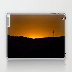 Sunset over the hills Laptop & iPad Skin