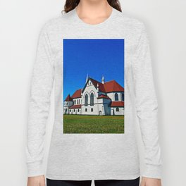 St. Mary's Church rear view Long Sleeve T-shirt