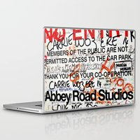 downton abbey Laptop & iPad Skins featuring Abbey by JoFar