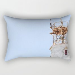 The Old Lighthouse Rectangular Pillow