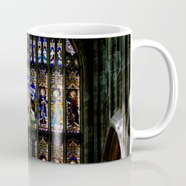 Stained Glass Window Shakespeare's Church Stratford upon Avon England Coffee Mug