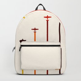 Retro Airplanes 02 Backpack