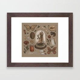Preserved Memories Framed Art Print
