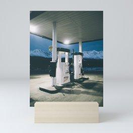 Yukon Gas Station Mini Art Print
