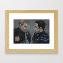 Who the hell is Steve? Framed Art Print