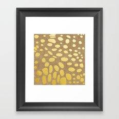 Katzengold Framed Art Print