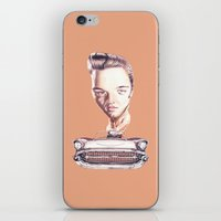 elvis presley iPhone & iPod Skins featuring Elvis Presley by Diego Abelenda
