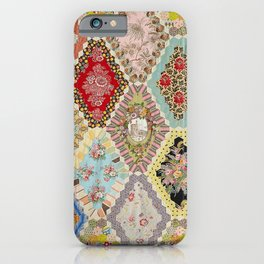 13-Panel Hexagon Quilt iPhone Case