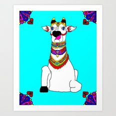The Holy Cow Art Print