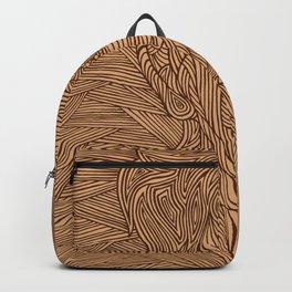 Carved Portrait Backpack