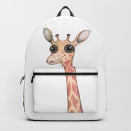 Cute comic giraffe Backpack