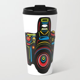 Black Camera Travel Mug