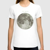 astronomy T-shirts featuring The Moon  by Terry Fan