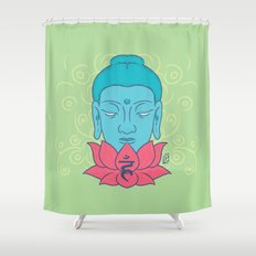Kalasha Shower Curtain