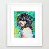karen Framed Art Prints featuring Karen by Casey Arden Art