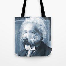 Albie Einstein Tote Bag