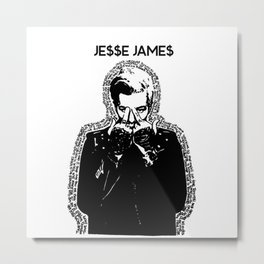 TSRL - Jesse Rutherford from THE NBHD Metal Print