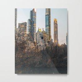 Millionaires Row NYC Metal Print