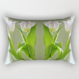 two lips, take two Rectangular Pillow