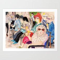 summer in Cambridge Art Print