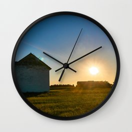 Moving Grains Wall Clock