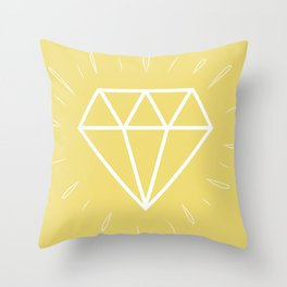 Diamant Throw Pillow