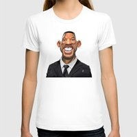 celebrity T-shirts featuring Celebrity Sunday ~ Will Smith by rob art | illustration