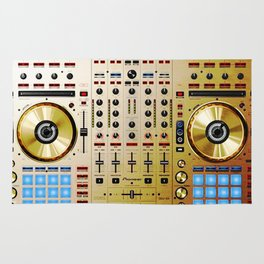 DDJ SX N In Limited Edition Gold Colorway Rug