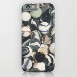 Vintage Glass Marbles 10 iPhone Case