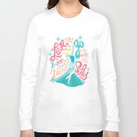 risa rodil Long Sleeve T-shirts featuring Snow Queen by Risa Rodil