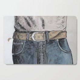 Blue jeans Cutting Board