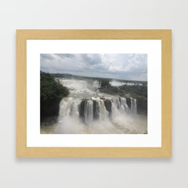 Iguaçu Falls Framed Art Print