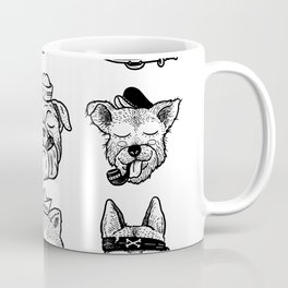 Ocean Dogs Coffee Mug