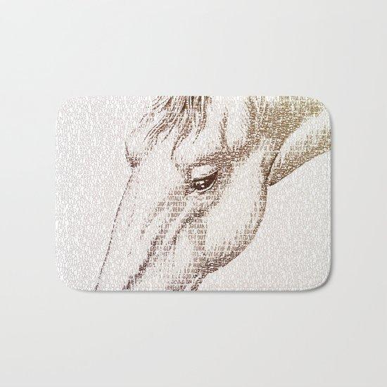 The Intellectual Horse Bath Mat