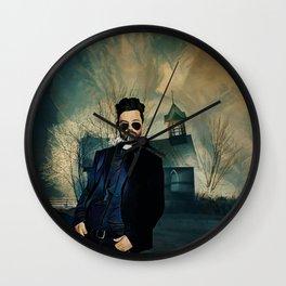 Preacher Wall Clock