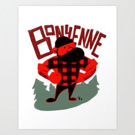 Bonyenne Art Print