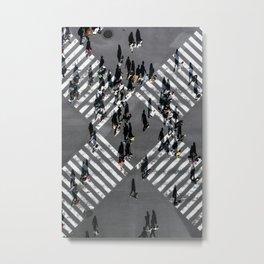 Tokyo Shibuya Crossing Metal Print