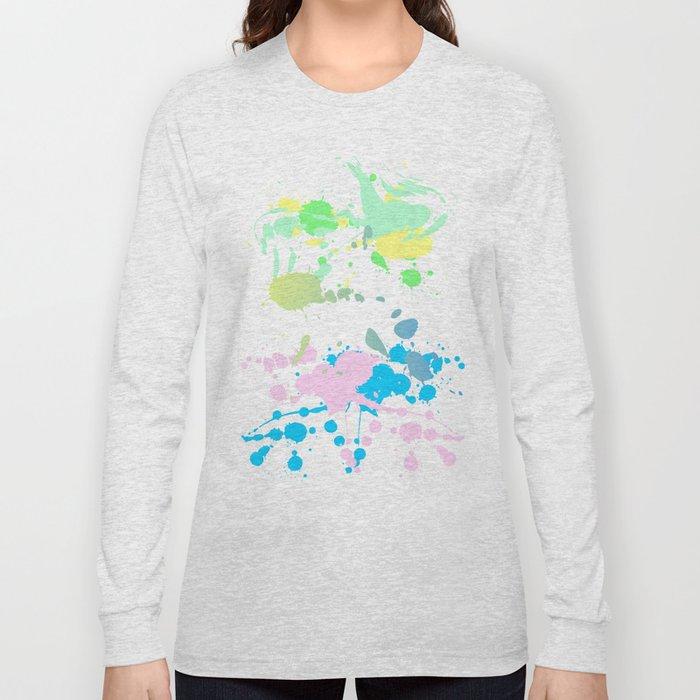 Paint Daubs (2) Long Sleeve T-shirt