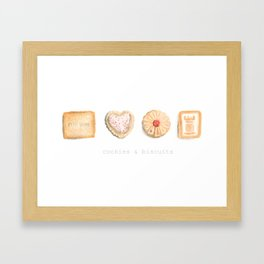 Cookies & Biscuits  Framed Art Print