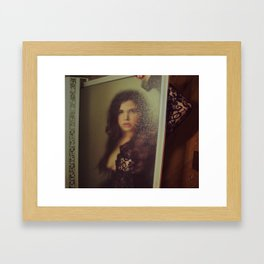 what strangers do  Framed Art Print