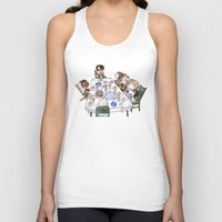 thanksgiving Tank Tops featuring A Max Fischer Thanksgiving by JessLane