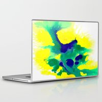 brazil Laptop & iPad Skins featuring WATERCOLOR BRAZIL by Chrisb Marquez
