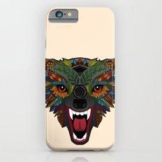 wolf fight flight ecru Slim Case iPhone 6s